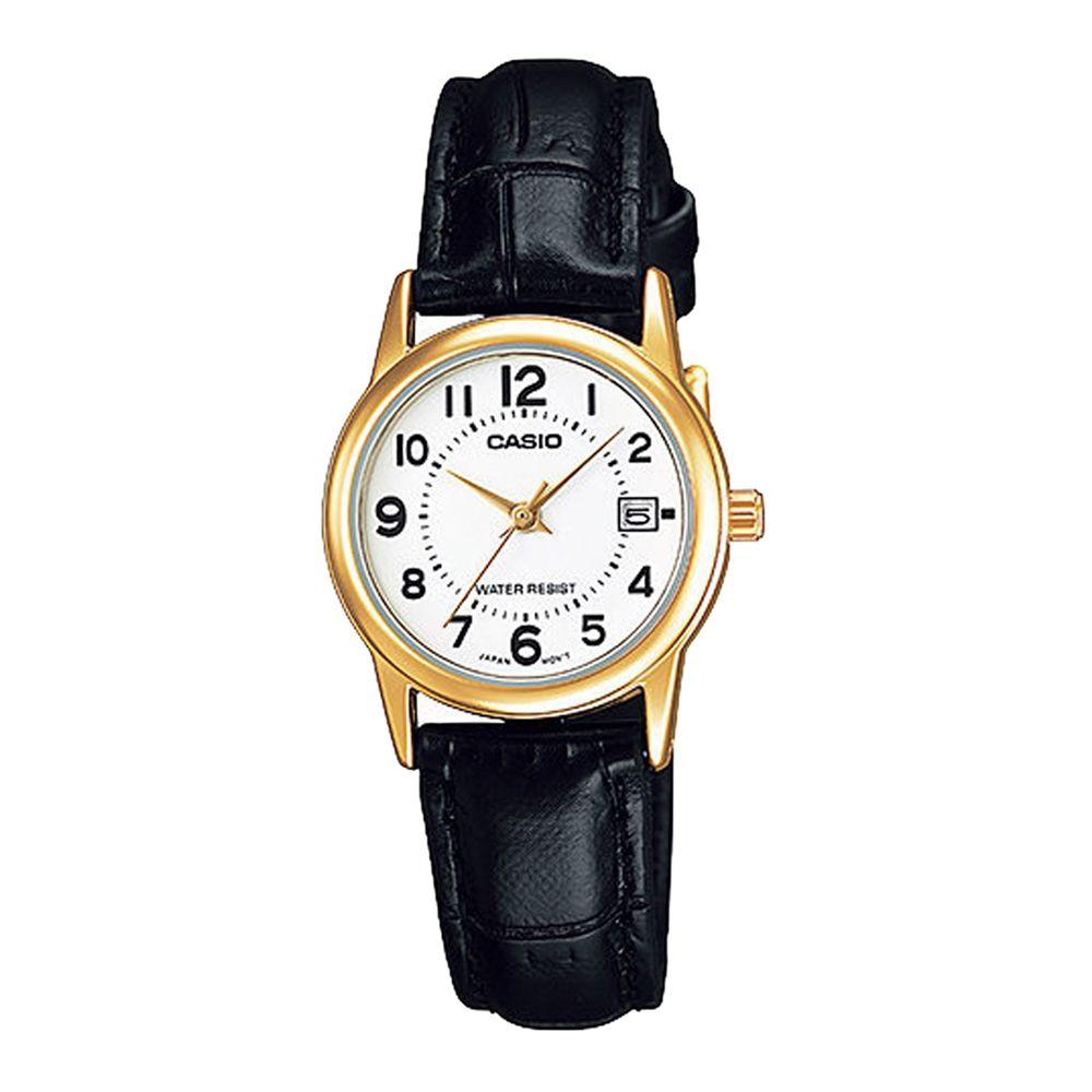 bb41dda281f Casio Collection LTP-V002GL-7BUDF Ladies Watch – StyleWearia ...