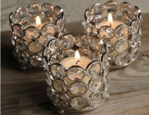 Wholesale Bulk 50 Pcs Lot Glass Crystal Tealight Votive Candle Holders Weddi Candle Holders Wedding Tealight Candle Holders Candle Holders Wedding Centerpieces
