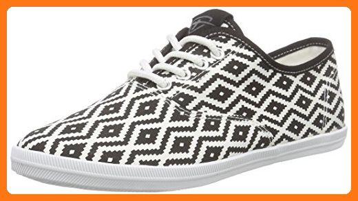 23609, Sneakers Basses Femme, Noir (Black 001), 36 EUTamaris