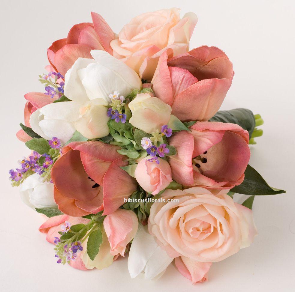 Bridal Bouquets Using Tulips : Wedding bouquet tulips imgkid the image kid