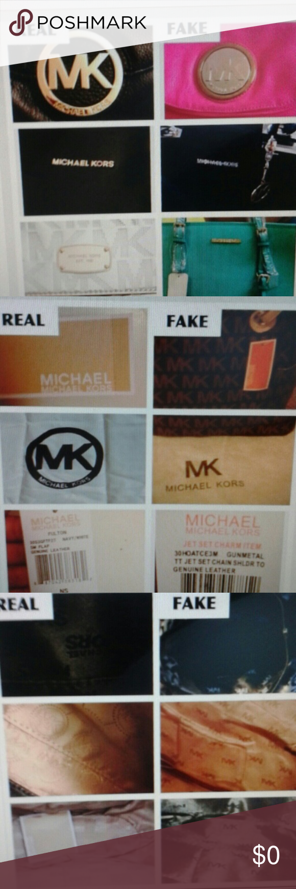 fb15cc134091 ...HOPE THIS HELPS HOw to spot a Fake MK BAG! Michael Kors Bags Wallets
