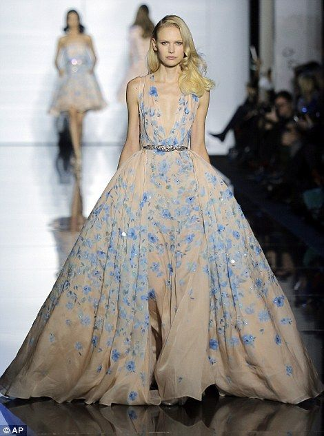 The 20 most glamorous moments from paris haute couture for Lebanese wedding dress designers