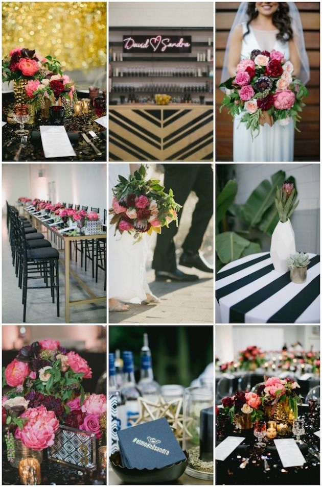 wedding celebration invitation%0A Get lots of ideas for your own fun  preppy bash with David  u     Sandra u    s  glamorous wedding reception with A Good Affair Weddings and Aaron Young  Photography