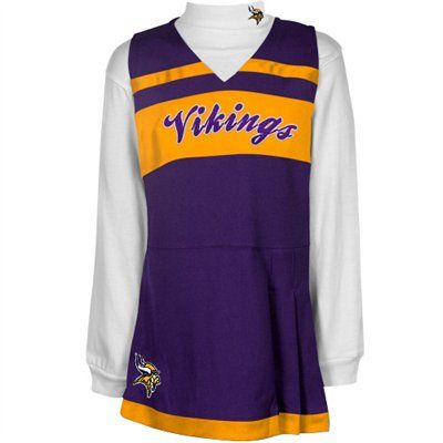 Minnesota Vikings Infant Jumper Long Sleeve Turtleneck Cheer Set ... 00eb72dc0