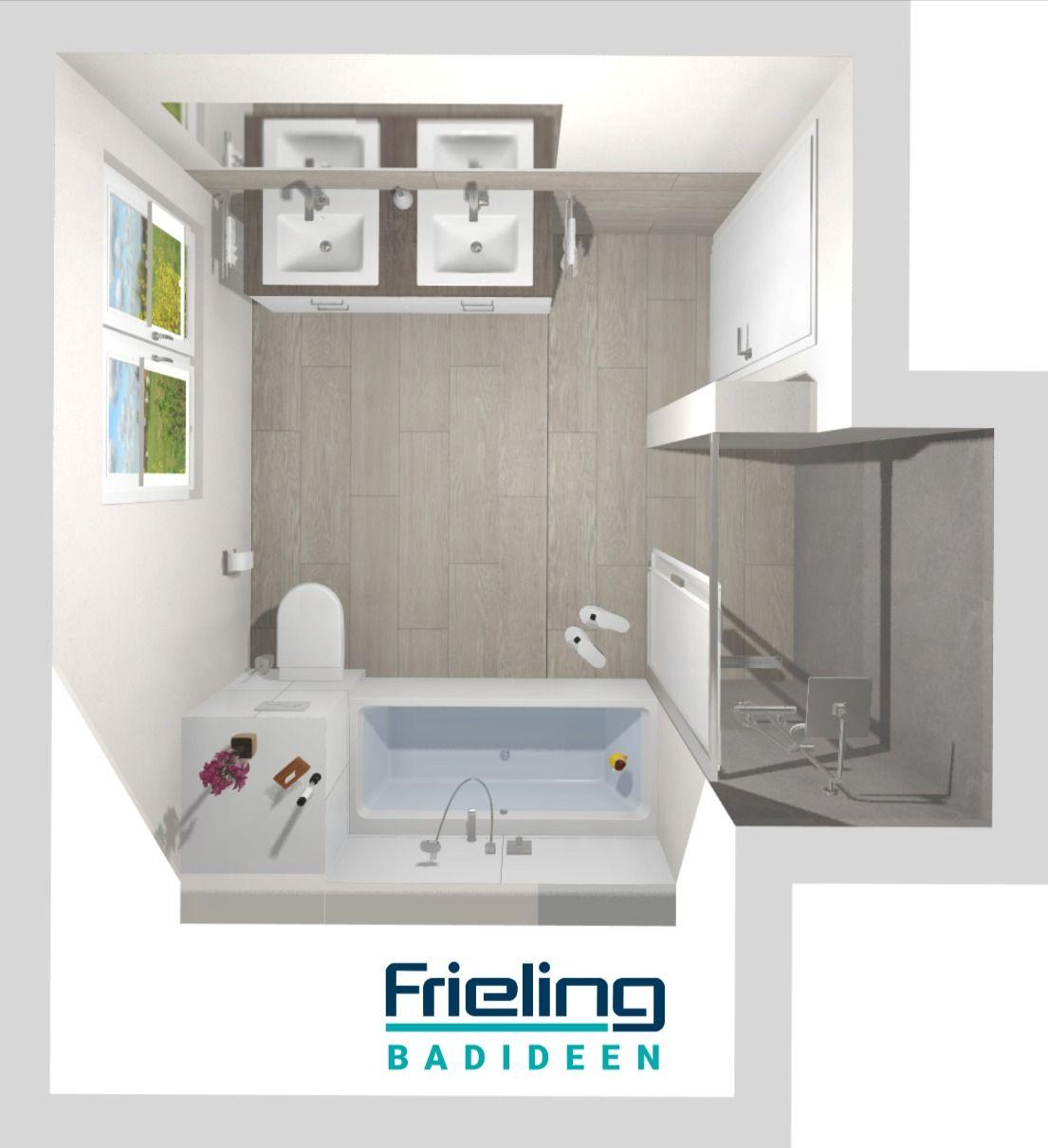 Das Grosse Familienbad Mit Nischendusche 3d Planung Badezimmer Mit Zonen 11qm Einbaubadewanne In 2020 Familienbad Badezimmer Grosse Badezimmer