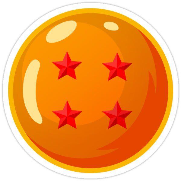 Dbz Four Star Dragonball Sticker In 2020 Dragon Ball Dragon Ball Super Art Dragon Ball Wallpapers