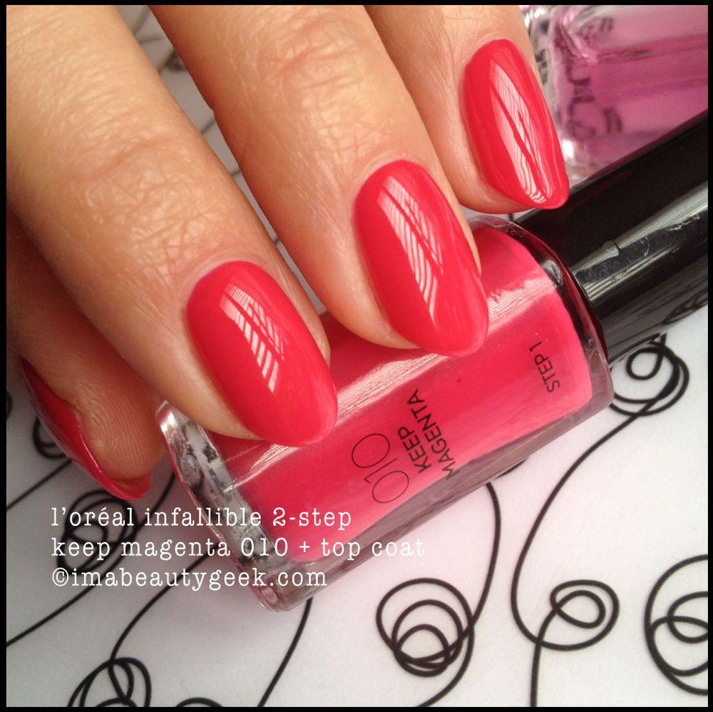 L Oreal Infallible 2 Step Nail Colour Esmalte