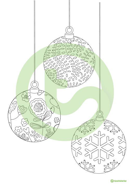 Holiday Mindful Coloring Sheets Teaching Resource ...
