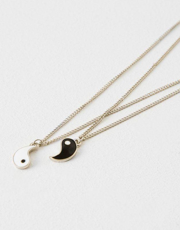 17fc47a8c4d6 pack collares yin yang - Accesorios - Novedades - Mujer - PULL BEAR España