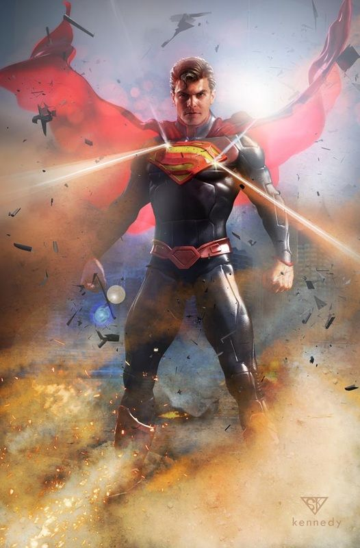 Who S Using Reality Sam Kennedy Professional Illustrator And Teacher Pret A 3d Superman Artwork Superman Pictures Superman Art