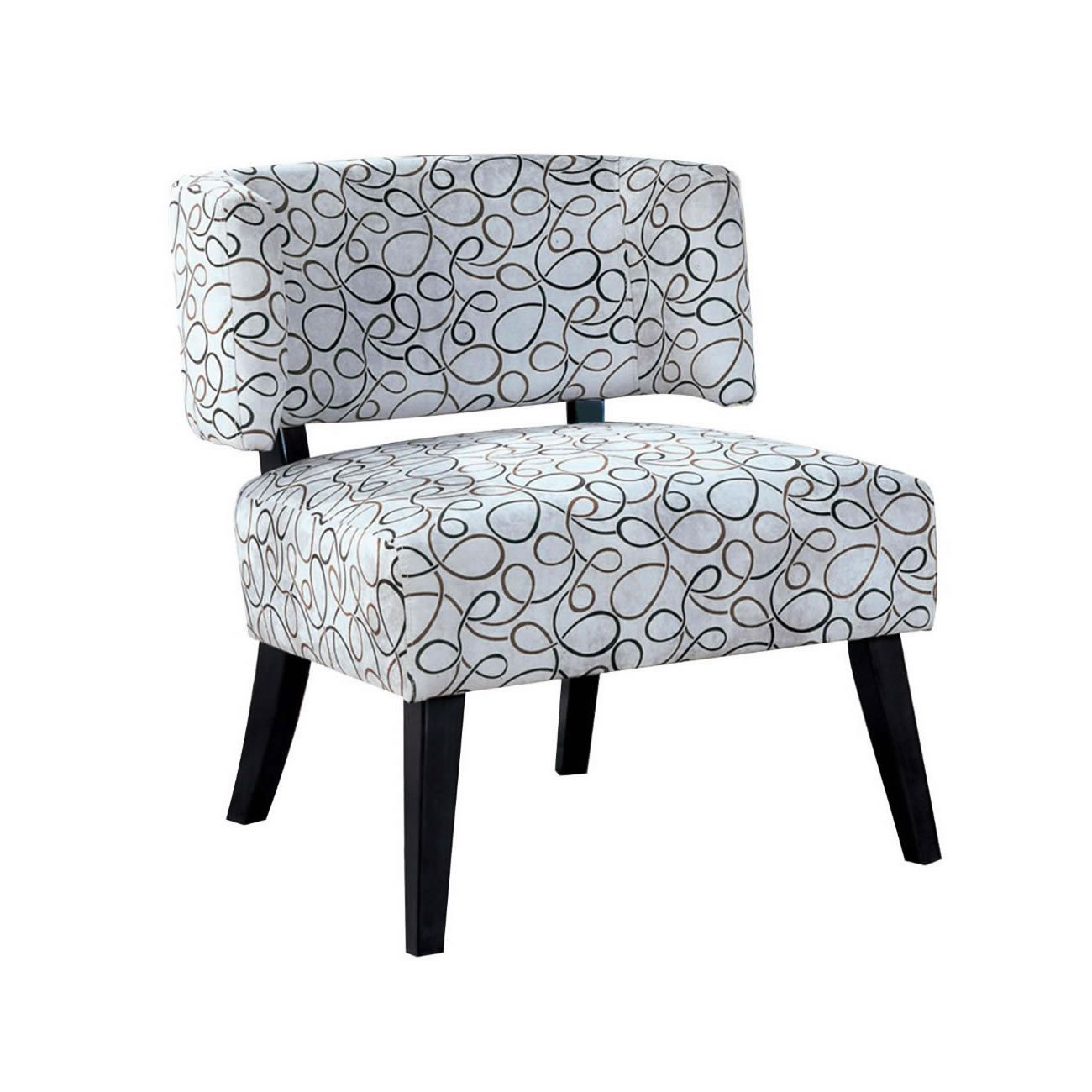 Features Transitional styling Curved back and full size