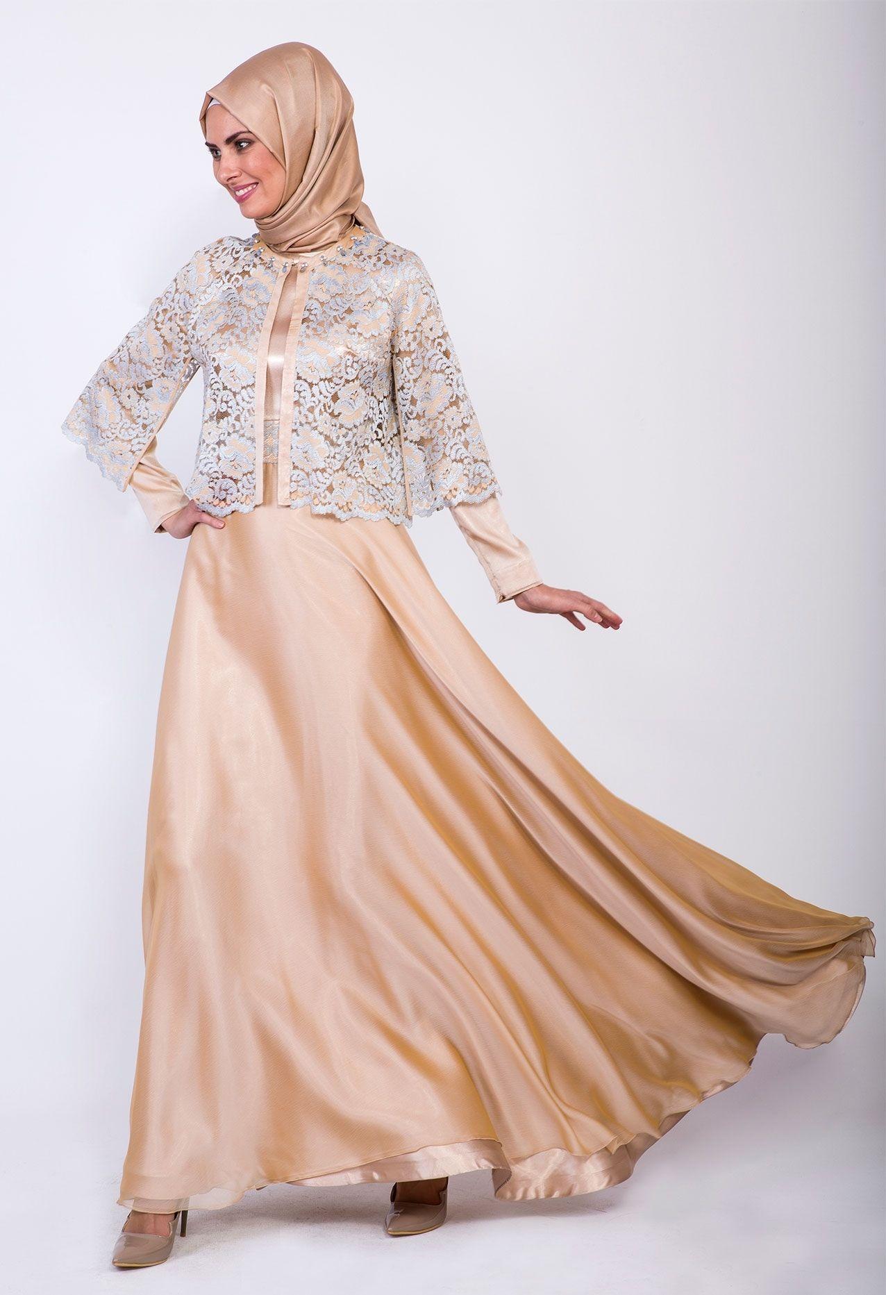 Related pictures armine tak elbise tesett abiye modelleri - Modamiz Com Tesett R Giyim Anta E Arp Ayakkab Kayra Abiye Elbise