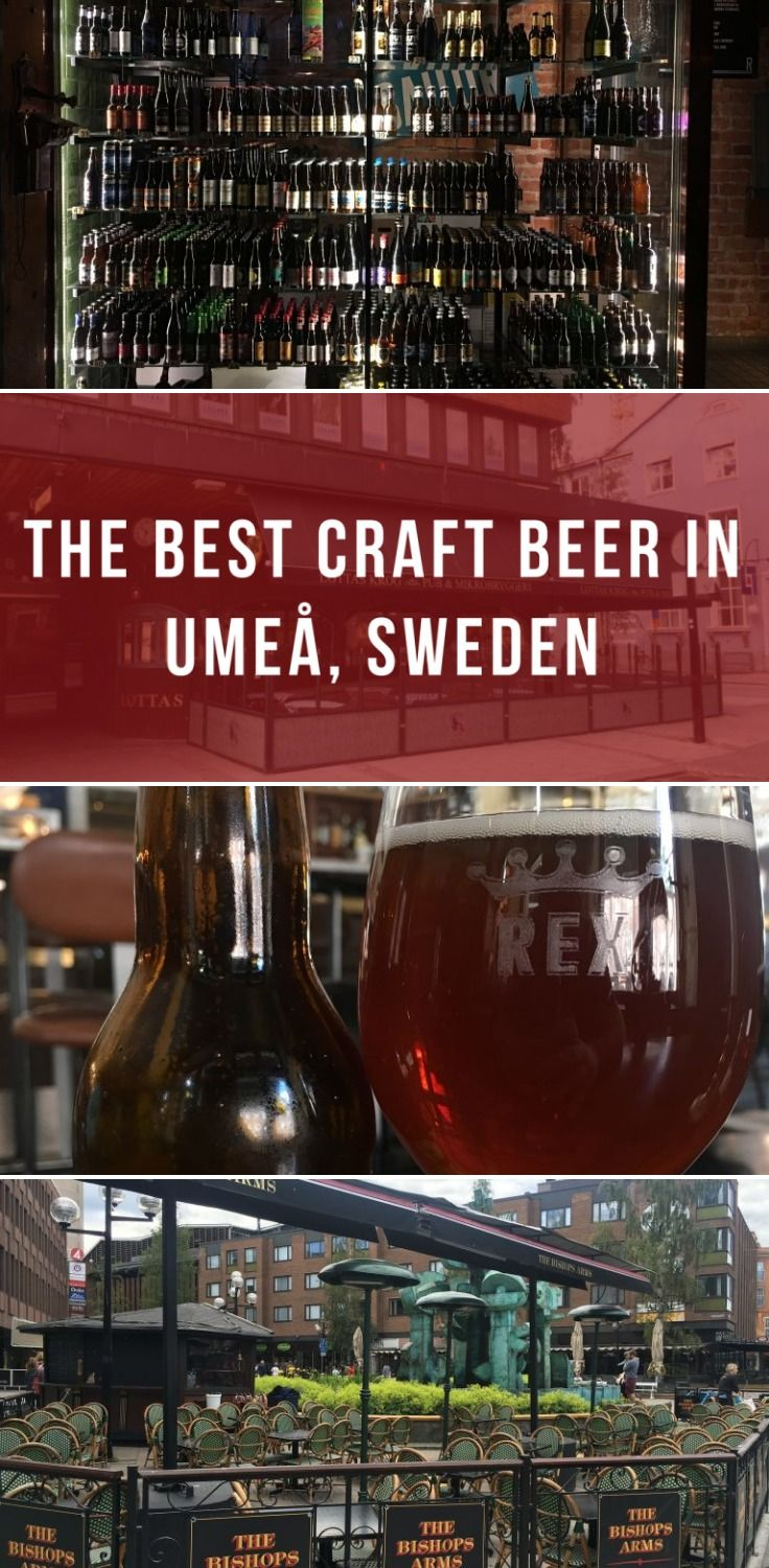 The Best Craft Beer In Umea Sweden