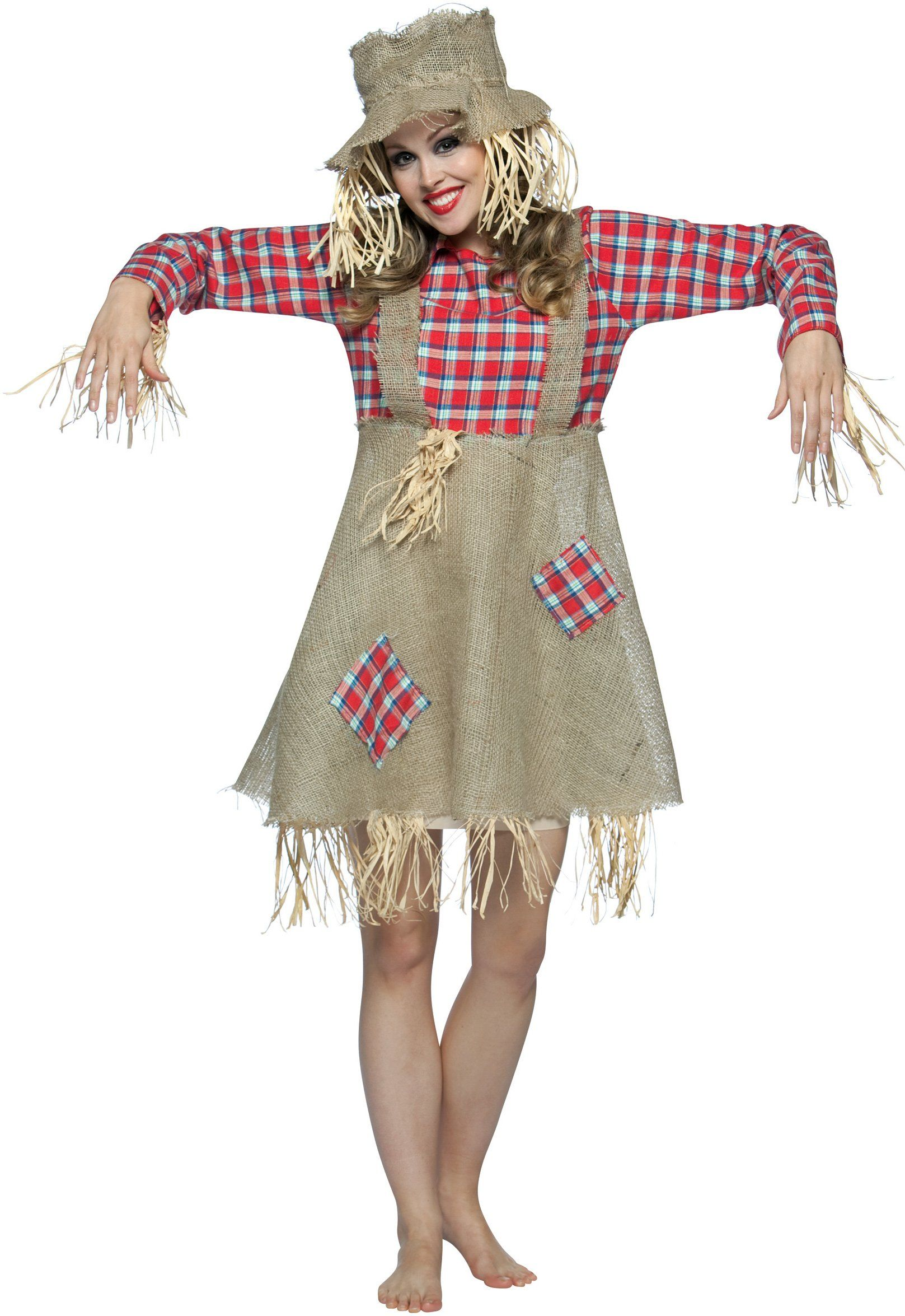 Teen Sweet Scarecrow Costume   Scarecrows, Costumes and Halloween ...