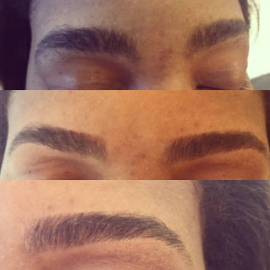 Beautiful Brow Clean Up Thick Brows Browtiful Browsbyglamindia