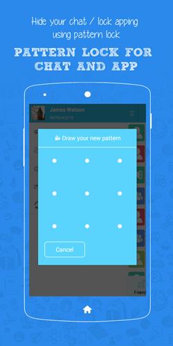 pattern lock app for windows phone