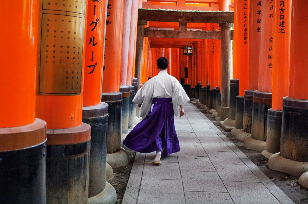 Steve McCurry — JAPANESE VIGNETTES     There is a role and...