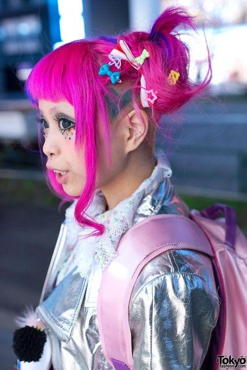 Haruka Kurebayashi S Super Kawaii Pink Hair Fashion In Harajuku Groovy Fashion Harajuku Fashion Street Pink Hair