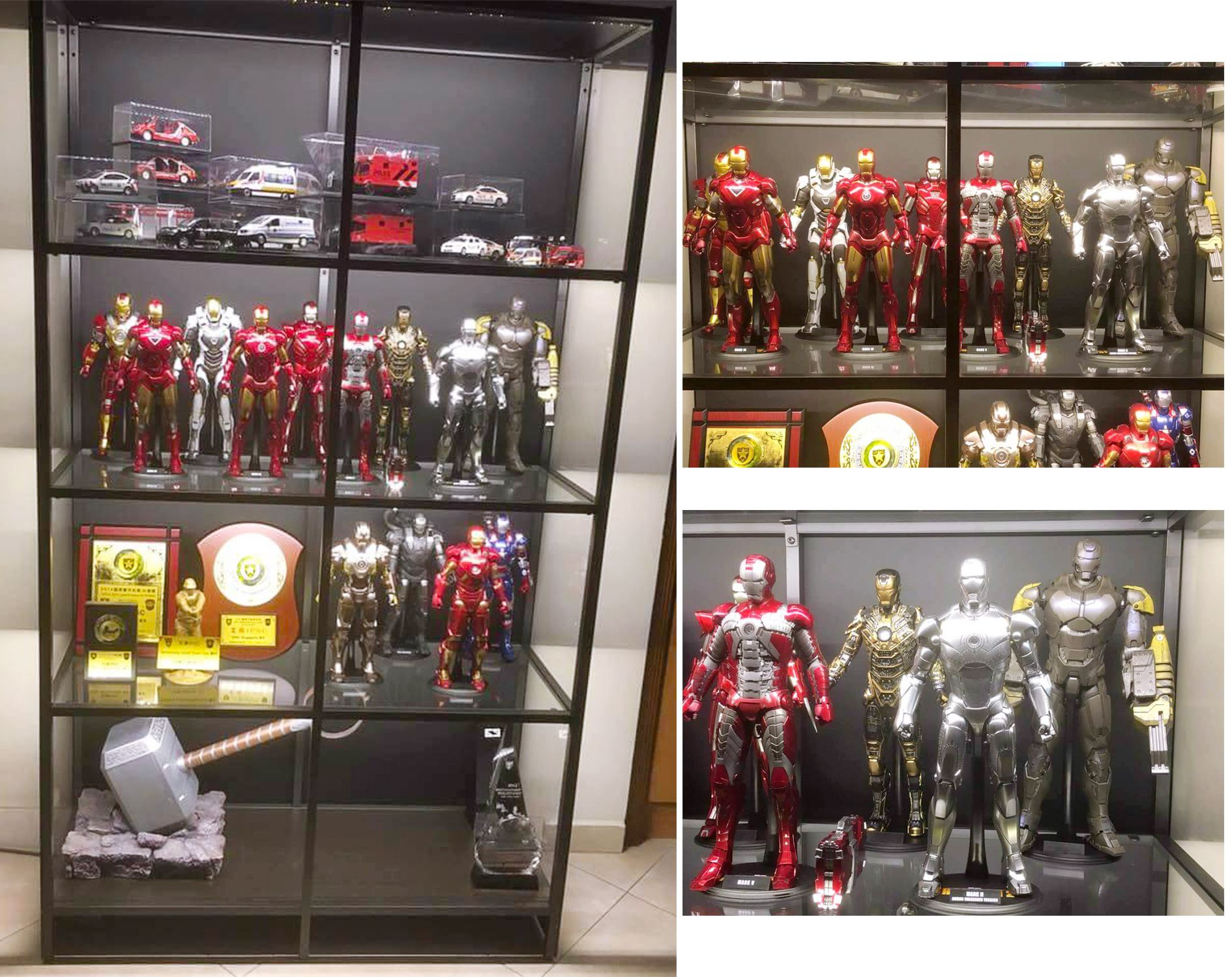 Lovely Here Is Our Budget Display Cabinet With LED Lighting To Bring Out The Best  Of Your Toys. Pictures By One Of Our Happy Customers.