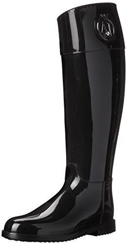 87417a0a9f8025 Armani Jeans Women s Rainboot with Crystal Rain Shoe on shopstyle ...