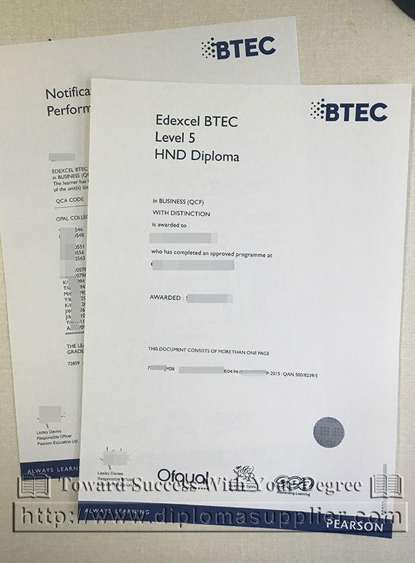 Buy Edexcel BTEC Fake Diploma From UK