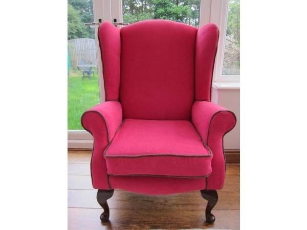 Pink Accent Chair