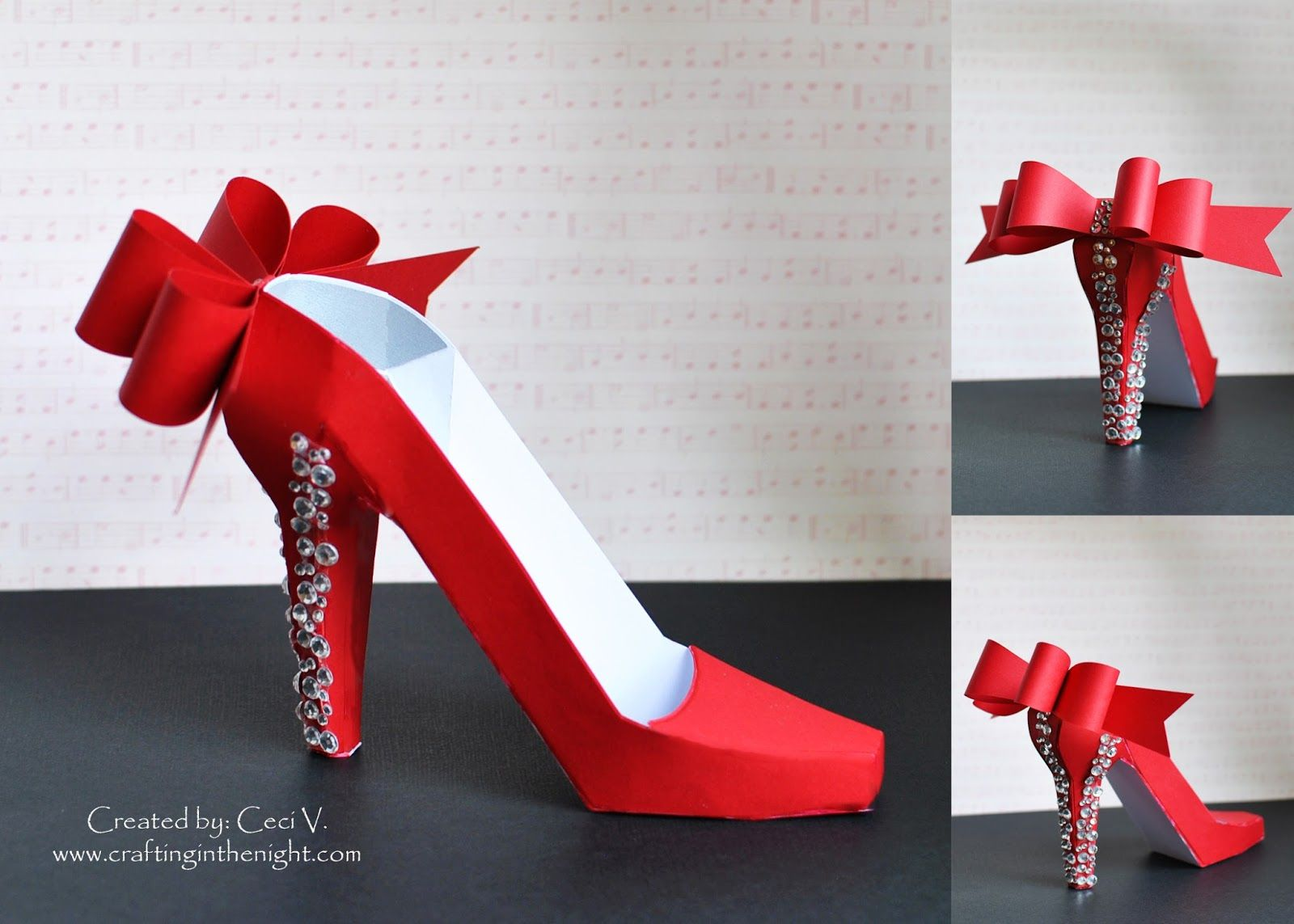 Hurry, hurry!!! SVGCuts.com is giving away their 3D high heel shoe ...