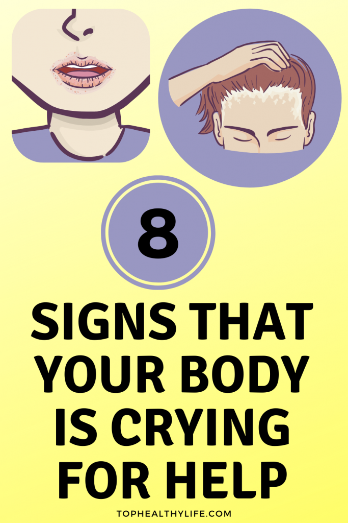 8 Signs That Your Body Is Crying for Help - IveVib
