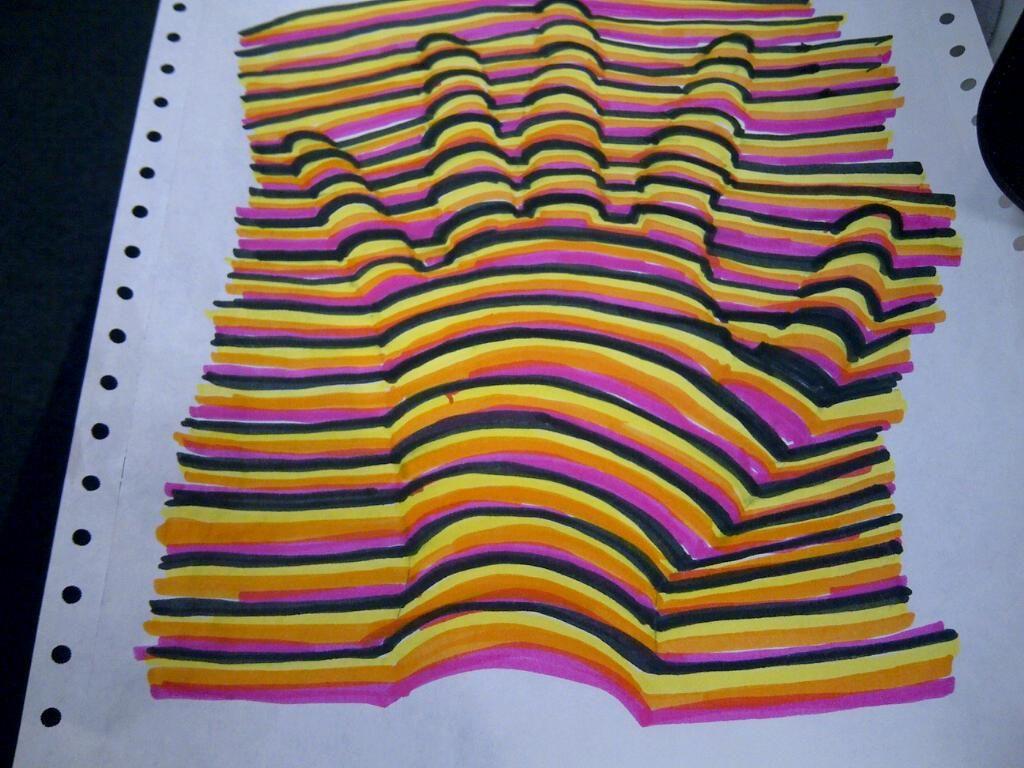 3D Optical Illusion Hand Picture - Mr.Kacur's Artworld!