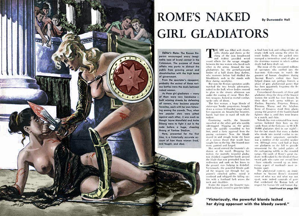 romes naked girl gladiators cavalcade1959 col by  julianapostata.deviantart.com on @DeviantArt