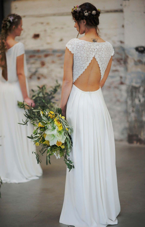 Traumhaft leichte Brautkleider von Victoria Rüsche  Leichte