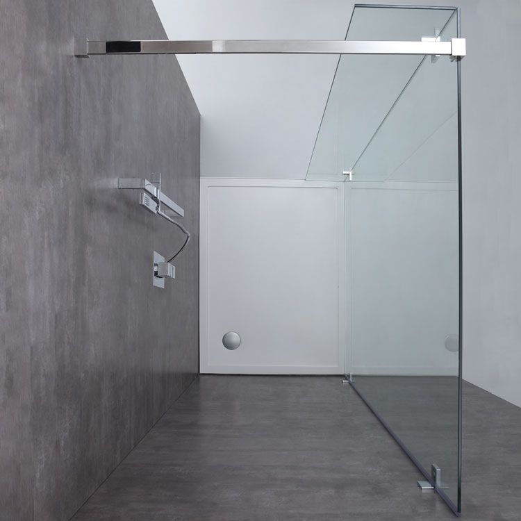 AWT Duschwand Walkin Dusche LY1501 150x210 Duschwand