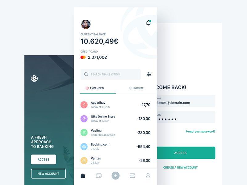 Triodos Bank App Concept Banking App App Concept