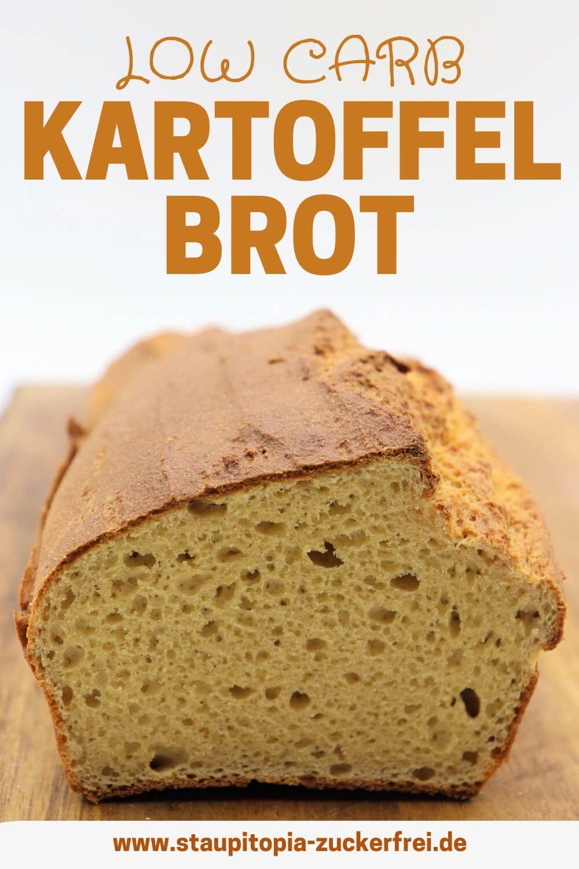 Low Carb Kartoffelbrot Rezept Kartoffelbrot Brot Backen