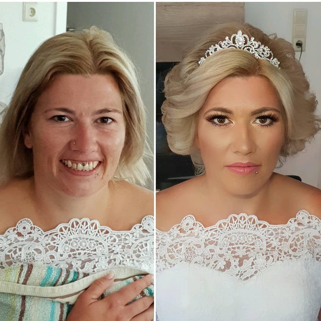 Meine Hubsche Braut Susanne Wedding Styling By Ludmilajostjost Brautmakeup Brautkleid Hochzeitsfrisur Weddingdress We Dantel Geli Nli K Gelinlik Hochzeit