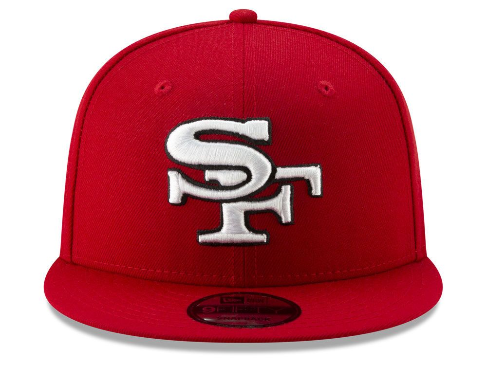 cffe97d1 San Francisco 49ers New Era NFL Logo Elements Collection 9FIFTY ...