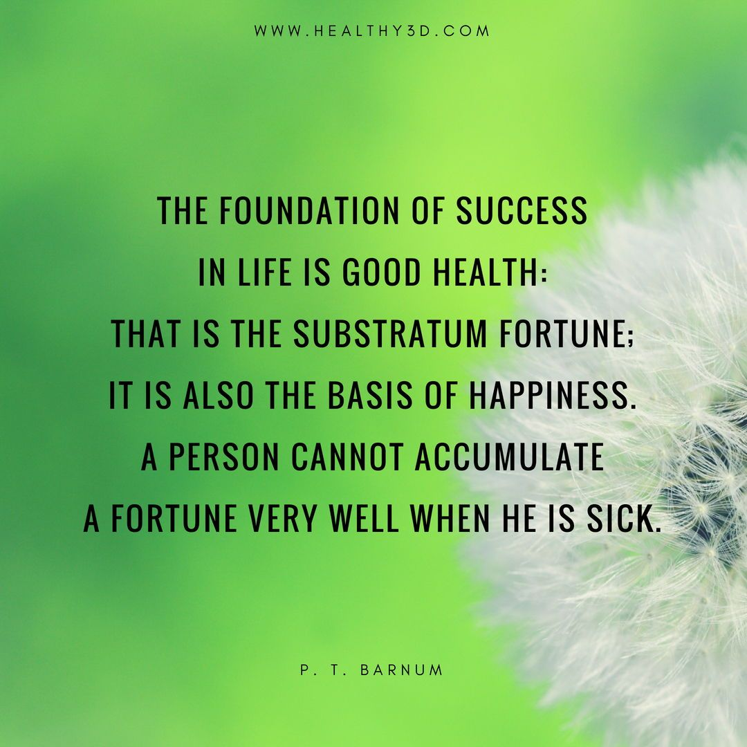 Importance of health quotes
