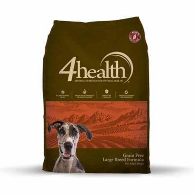 4health Grain Free Large Breed Formula Adult Dog Food 30 Lb Bag