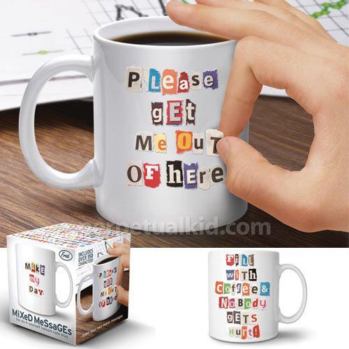 Mixed Messages Mug   Design Milk. Good Gift IdeasCoffee MugsCute ...