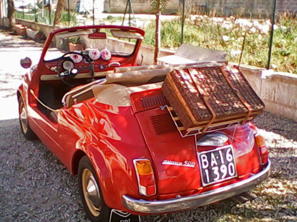 Fiat 500 Fiat 500 110f Luxury Spiaggina Jolly With Images