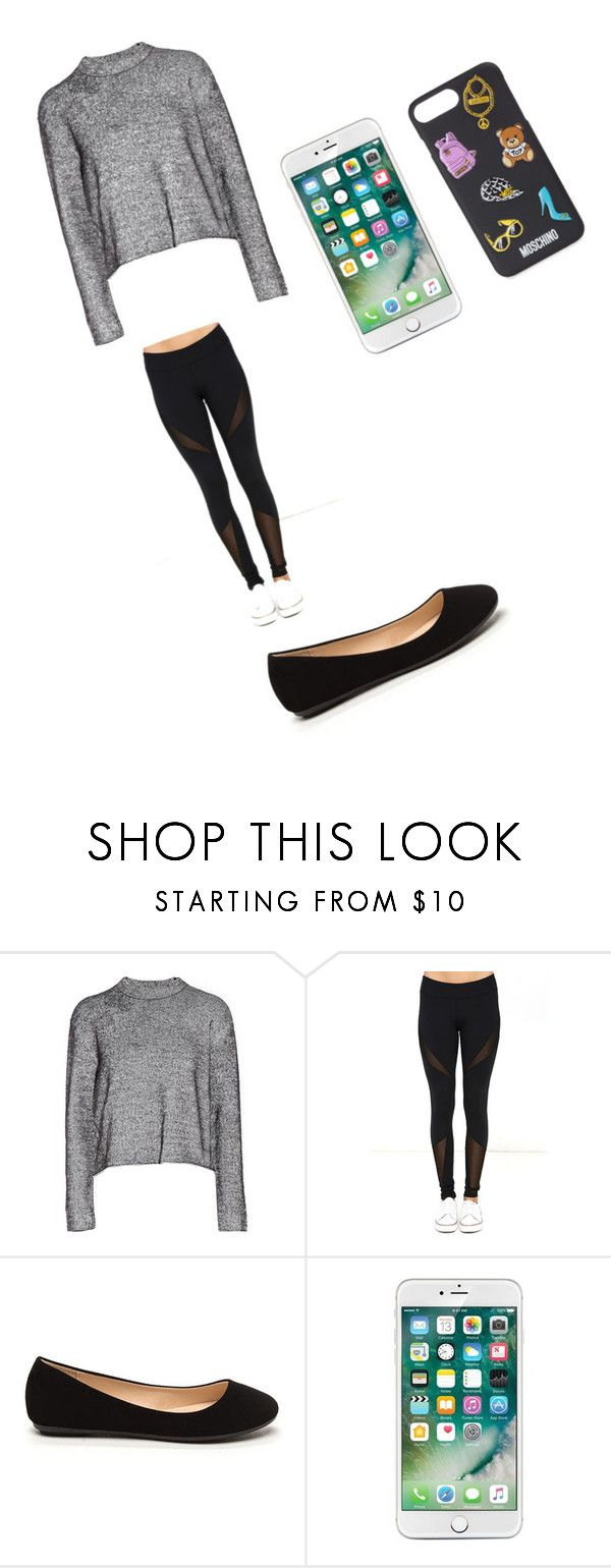 """chillen"" by bunnhala ❤ liked on Polyvore featuring T By Alexander Wang, Dance & Marvel and Moschino"