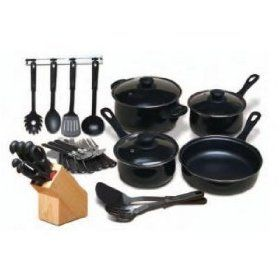 Chef's Du Jour 32-Piece Kitchen Combo Set.  List Price: $50.00  Sale Price: $29.95  More Detail: http://www.giftsidea.us/item.php?id=b001fbx3km