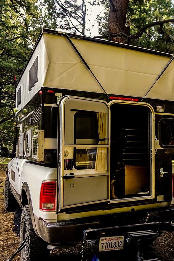 The Best Pop Up Truck Campers For Adventure Travel in 2020