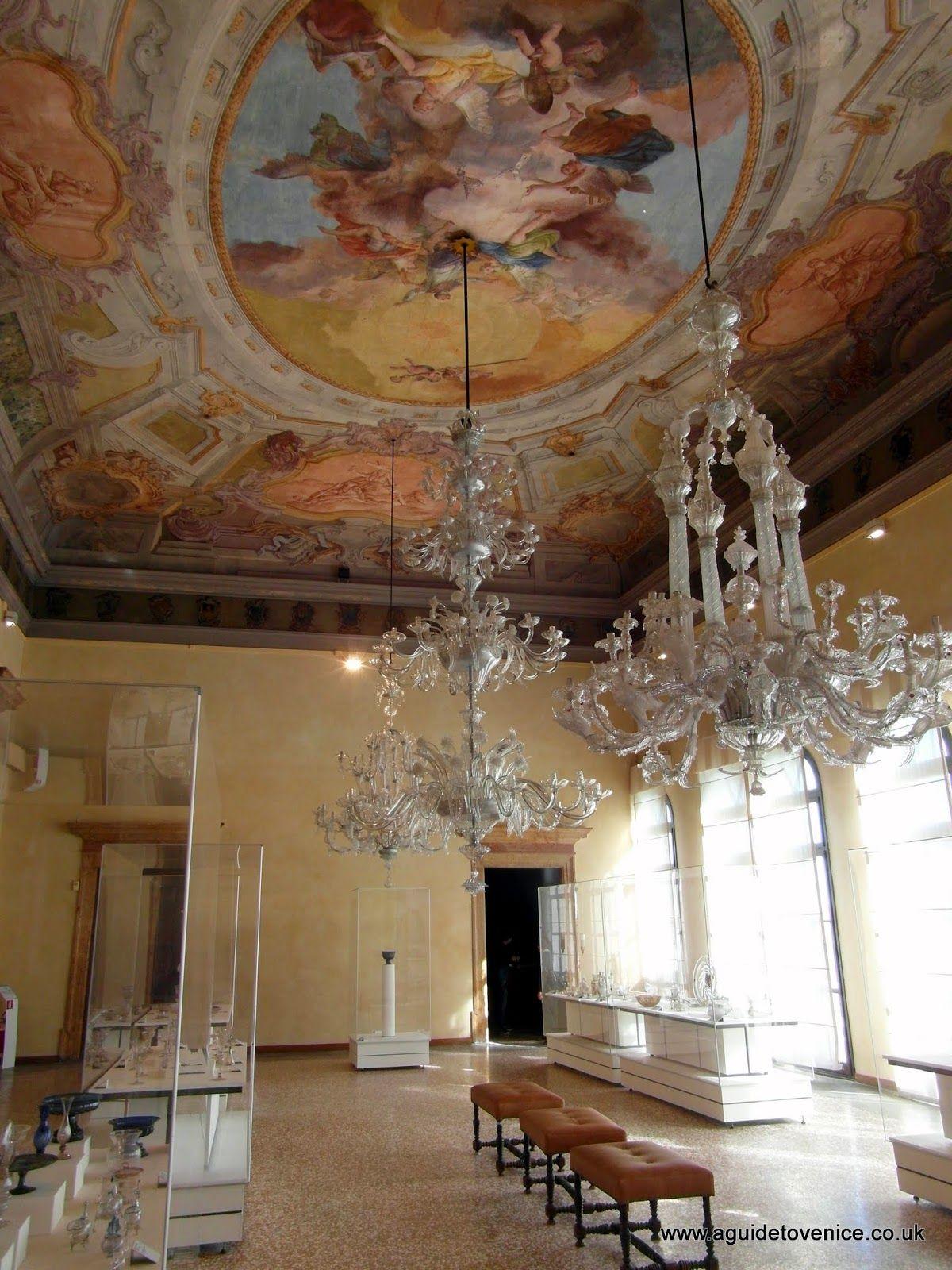 Museo Del Vetro Murano.Sala Grande Palazzo Giustiniani Museo Del Vetro Murano