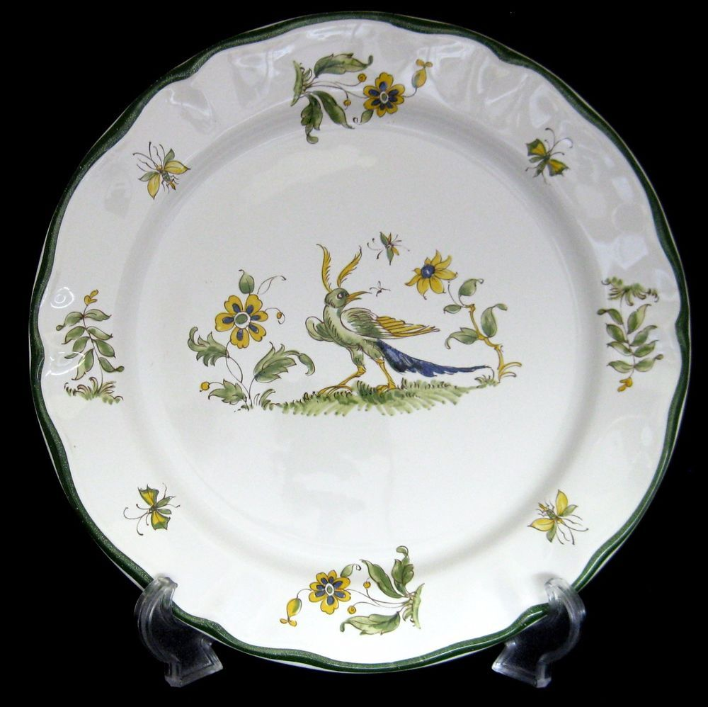 Other China \u0026 Dinnerware | eBay & Vintage Varages Vieux Provence Dinner Plate Hand painted Made in ...