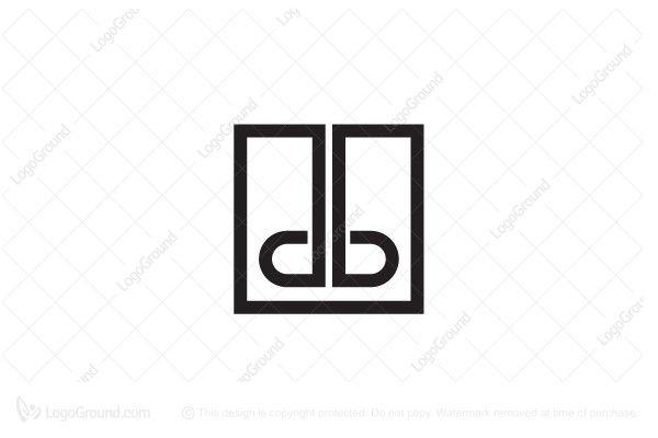 logo for sale letter db logo unique letter db for serious and rh pinterest com Men's Clothing Logos Popular Clothing Logos