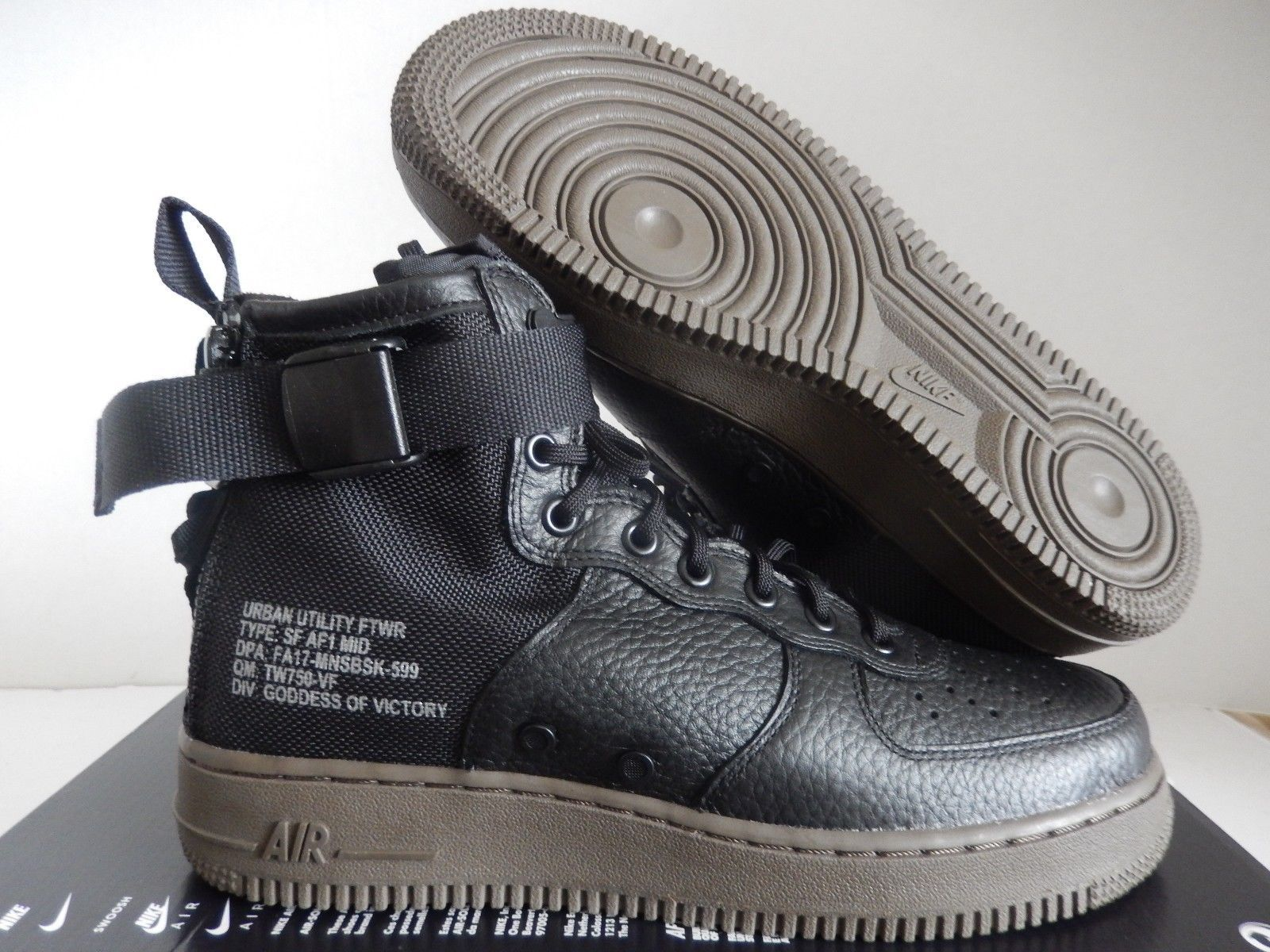 on sale f1447 6ae41 Air Force 1 Mid, Nike Air Force Ones, Hypebeast, Black Dark, Special