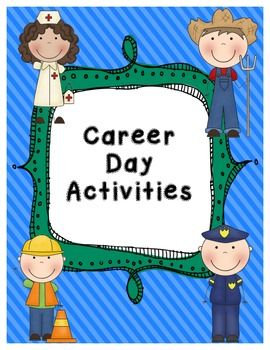 If you have a career day for your kids, this is the pack for you.  There are plenty of activities to compliment that special day for your kids.