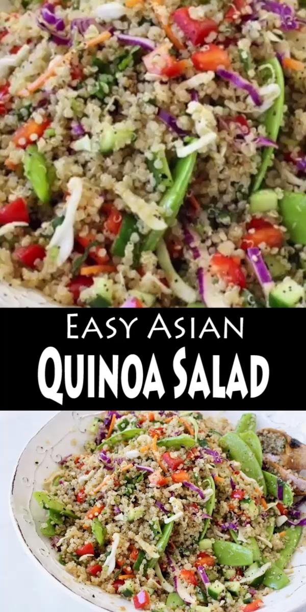 asiatischer Quinoa Salat