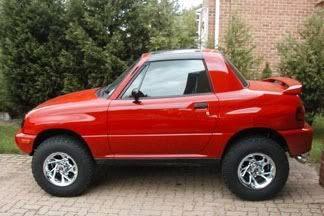 the suzuki x-90. the best little car i've ever owned. i wish they